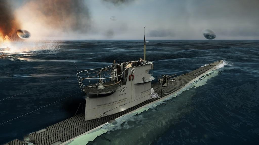 битва лодок