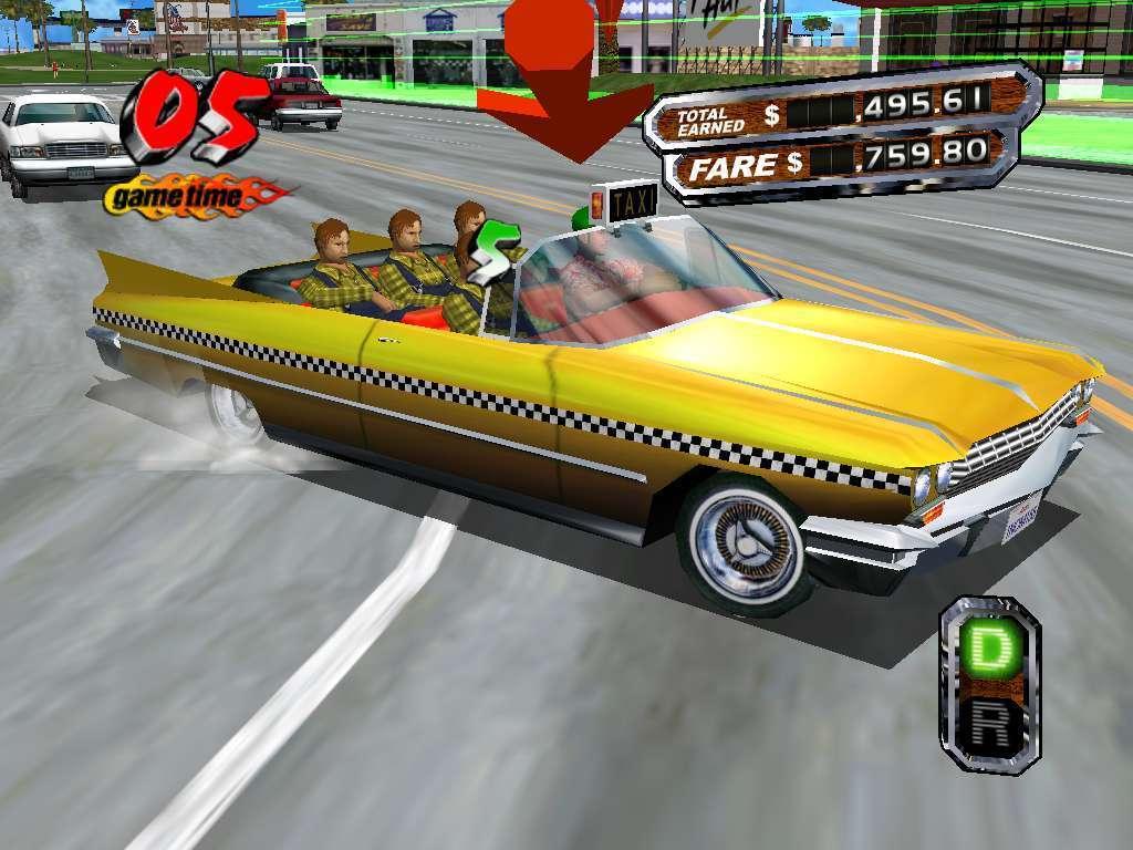 Screenshot of Crazy Taxi 3