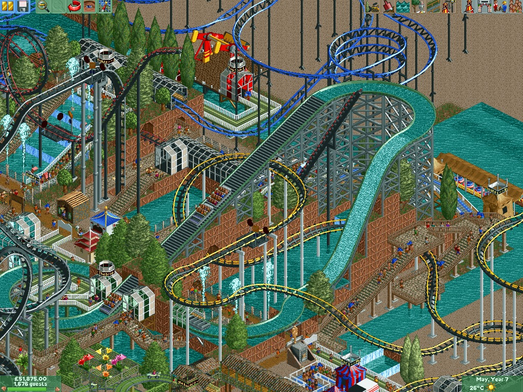 Téléchargement: RollerCoaster Tycoon 2 Expantion - Time ...