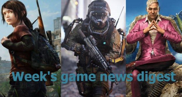Week's game news digest