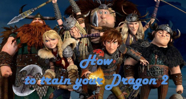 New How to train your Dragon 2 video