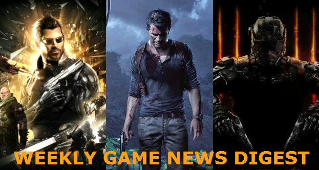 Weekly game news digest