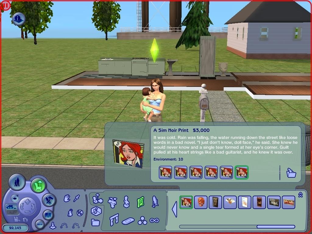 Screenshot Of The Sims 2 Glamour Life Stuff